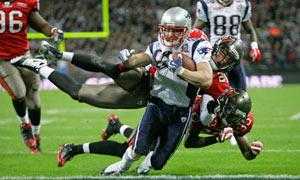 New England Patriots Wes Welker