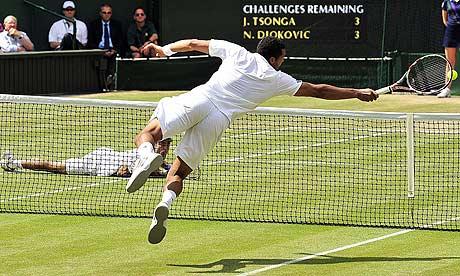 Jo-Wilfried Tsonga v Novak Djokovic