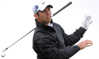 Paul Casey drops his club