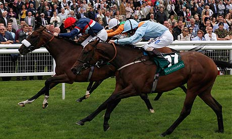 Charles The Great resists Lily's Angel at Newbury at Newbury