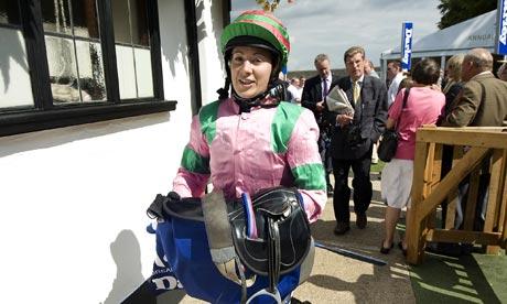 Hayley Turner, woman jockey