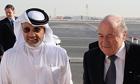 Mohamed Bin Hammam Fifa Sepp Blatter