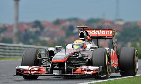 Lewis Hamilton F1 Hungaroring