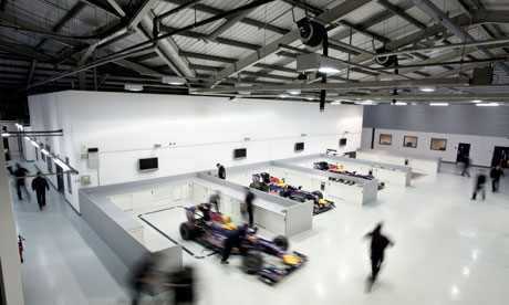 The Red Bull factory