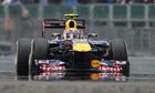 Mark Webber took pole at Silverstone