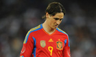 Fernando Torres of Chelsea suffers concussion in Spain defeat by Italy