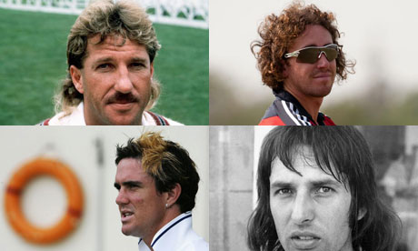 Great haircuts of English cricket