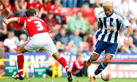 West Bromwich Albion's Peter Odemwingie