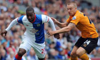 Misery for Blackburn Rovers after Stephen Ward fires Wolves to victory