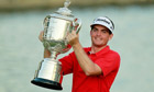 Keegan Bradley wins US PGA play-off to give Americans a major boost