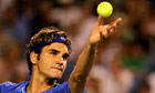 Roger Federer turns back the clock to brush past Juan Martín del Potro