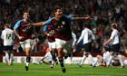 Eric Lichaj's first goal for Aston Villa breaks Hereford's resistance