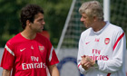 Arsenal's omission of Cesc Fábregas for friendly adds to transfer saga