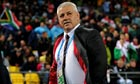 Warren Gatland takes in his Wales team's 17-16 defeat by South Africa in Wellington