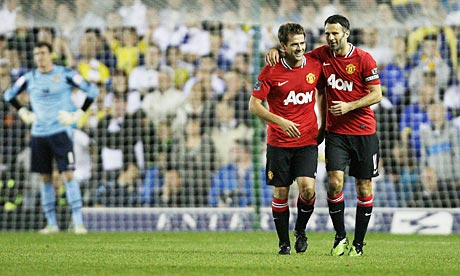 Michael Owen and Ryan Giggs