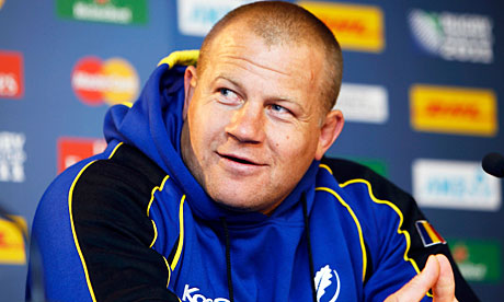 Romania captain Marius Tincu attends a news conference after the Captain's run in Invercargill