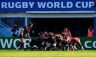 Rugby World Cup scrum