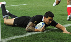 New Zealand All Blacks Sonny Bill Williams