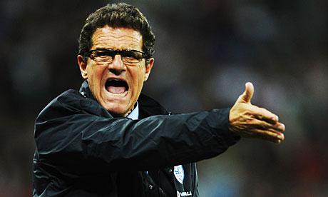 Fabio Capello, the England manager