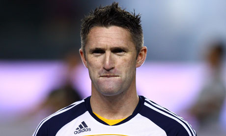 Robbie Keane Robbie Keane has reached the Holte End but his journey isn