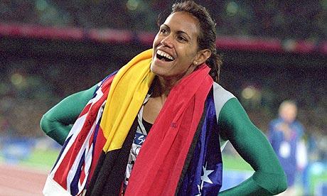 Cathy Freeman wins gold in Sydney