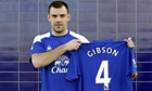 Darron Gibson has joined Everton from Manchester United