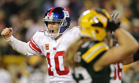 NEW YORK GIANTS shock Green Bay Packers in NFL playoffs