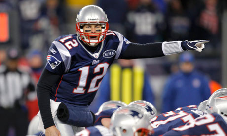 New England Patriots quarterback Tom Brady vs. Denver Broncos