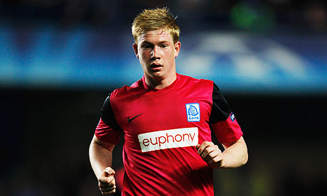 Kevin De Bruyne who has joined Chelsea from Genk