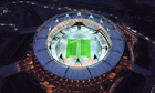 Handout photo of the London 2012 Olympic Stadium