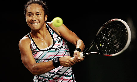 Twenty-year-old Heather Watson reached her first WTA Tour Singles Semifinal today at the HP Open in Osaka, Japan by defeating Pauline Parmentier of France, 7-5, 6-3.