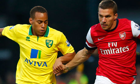 Norwich v Arsenal