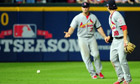 Pete Kozma, Cardinals vs Braves