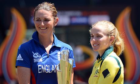Charlotte Edwards and Jodie Fields