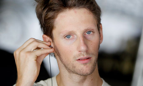 Romain Grosjean - Piloto de F1 em 2017 - by theguardian.com