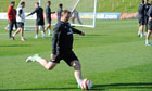 Wayne Rooney England training