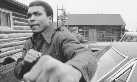 Muhammad Ali in the 1970s