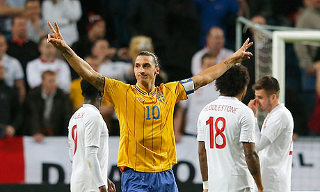 Swedens Zlatan Ibrahimovi 008 A comprehensive list of Zlatan Ibrahimovics greatest ever goals