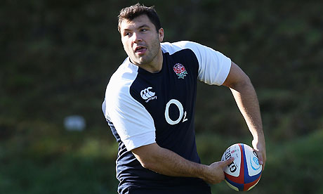 Alex Corbisiero, the London Irish prop, is ready to start for England against South Africa