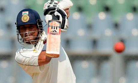 Indian cricketer Sachin Tendulkar