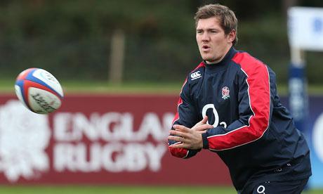 Alex Goode, England rugby player