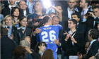 Roman Abramovich embraces John Terry