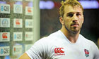 England's Chris Robshaw after the South Africa game
