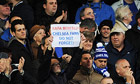 Chelsea anti-Benitez sign