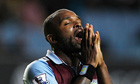 Darren Bent rues a missed chance