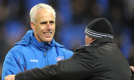 Mick McCarthy, Bolton Wanderers v Ipswich Town