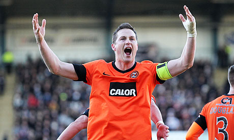Dundee United's captain Jon Daly