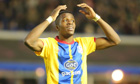 Crystal Palace's Wilfred Zaha