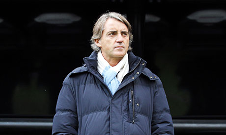 Roberto Mancini, the Manchester City manager