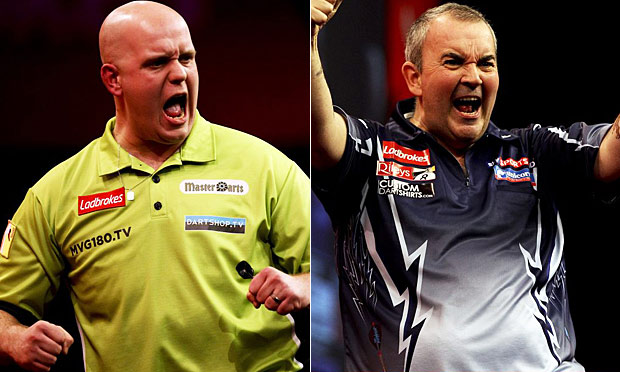 phil taylor vs michael van gerwen